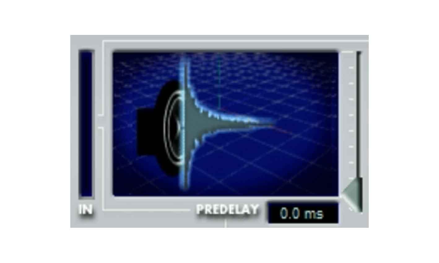 Screen shot of Steinberg(Spectral Design) Reverb 32 plugin pre delay