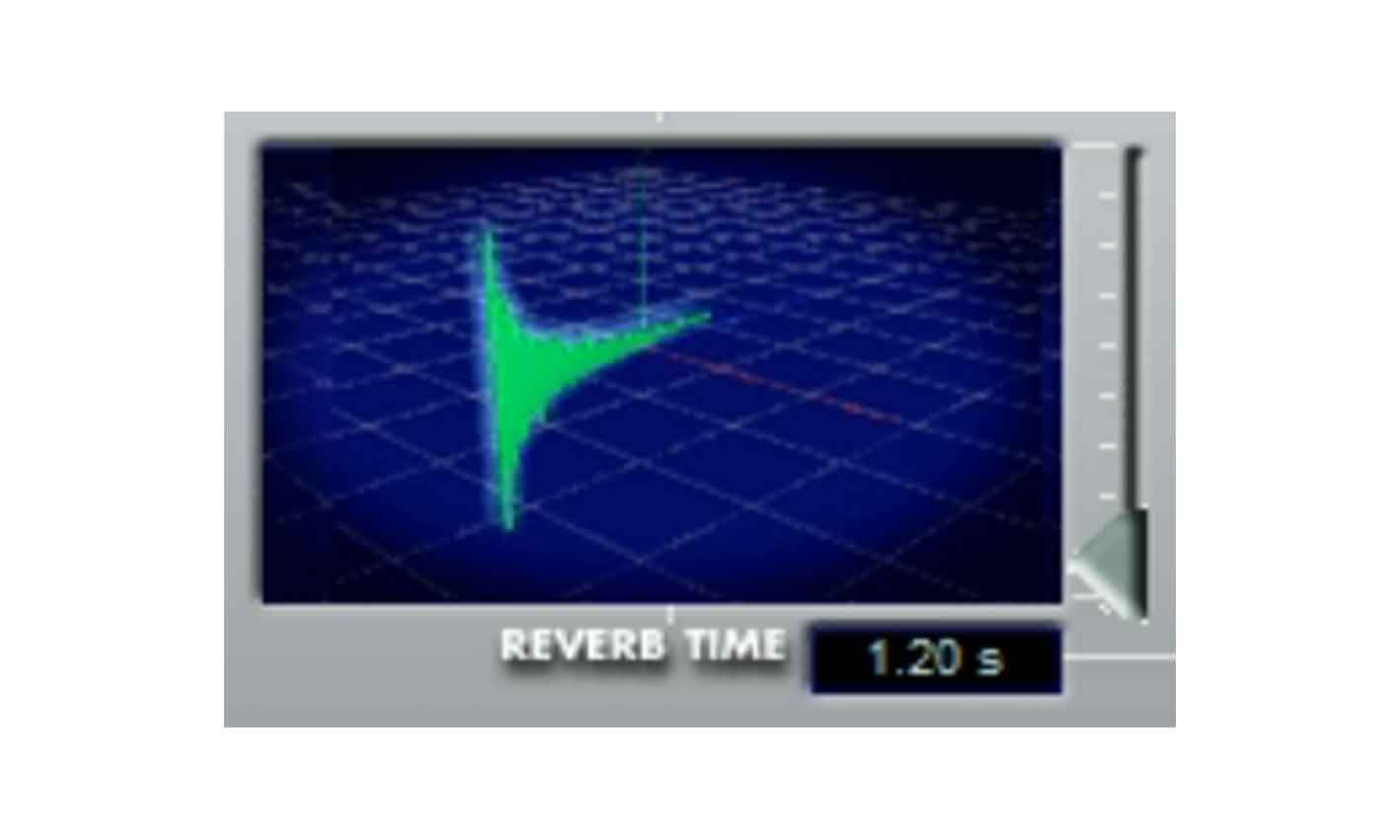 Screen shot of Steinberg(Spectral Design) Reverb 32 plugin reverb time